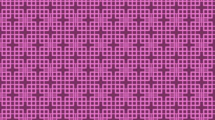Pink Geometric Square Pattern