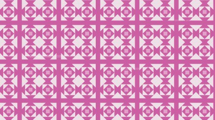 Pink Square Pattern Illustrator