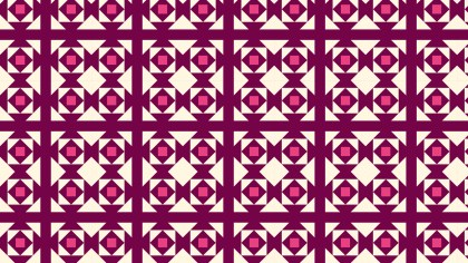 Pink Square Background Pattern Vector