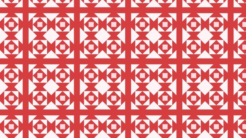 Pink Geometric Square Background Pattern Illustration