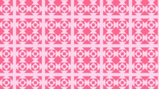 Pink Seamless Square Pattern Design