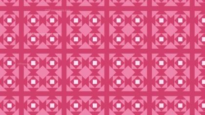 Pink Square Pattern