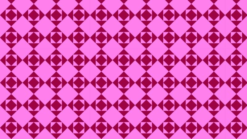 Fuchsia Square Pattern Background