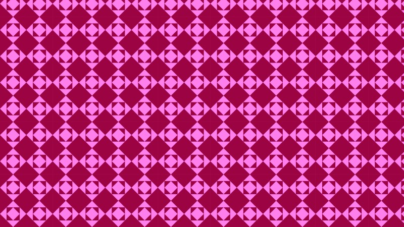Pink Square Background Pattern
