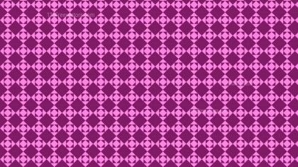 Pink Geometric Square Pattern Background