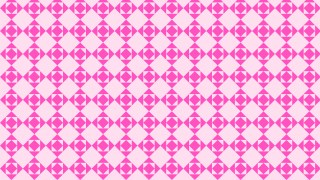 Rose Pink Geometric Square Background Pattern