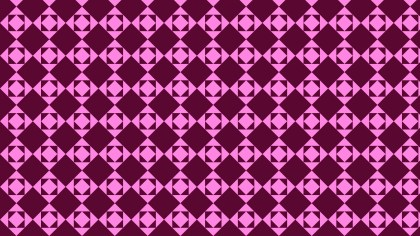 Pink Seamless Square Pattern Background