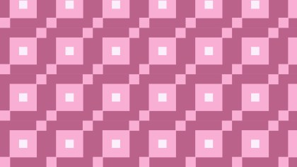 Pink Seamless Geometric Square Background Pattern