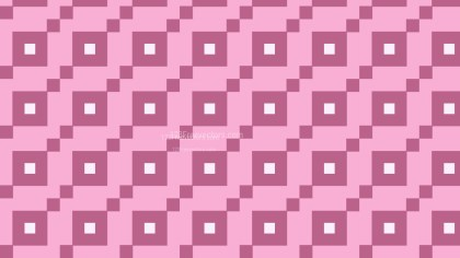 Pink Square Pattern Graphic