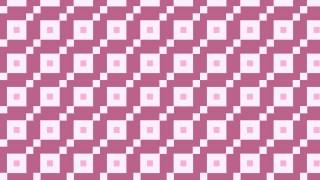 Pink Square Pattern Background Illustration