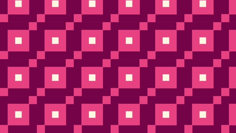 Pink Geometric Square Background Pattern Vector Image