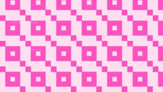 Rose Pink Seamless Square Background Pattern Vector