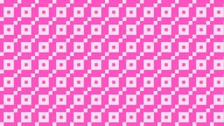 Rose Pink Seamless Geometric Square Pattern Vector Art