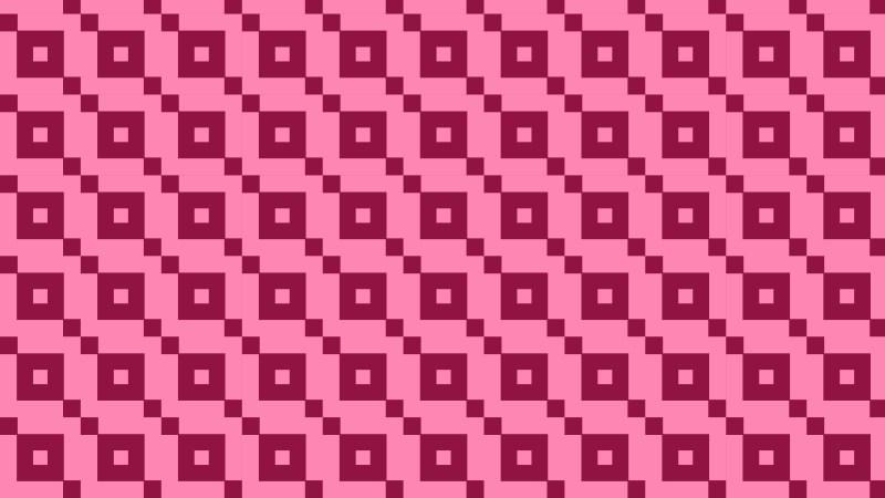 Pink Seamless Geometric Square Background Pattern Illustration