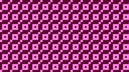 Pink Square Pattern Background