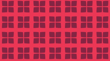 Pink Seamless Geometric Square Pattern Background
