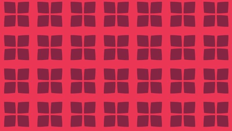Pink Seamless Geometric Square Pattern Background