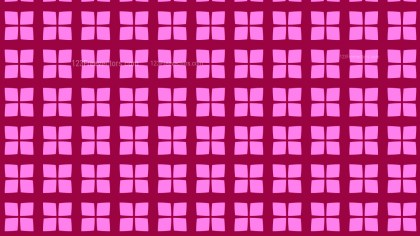 Fuchsia Square Pattern Vector Graphic