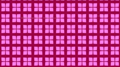 Fuchsia Square Pattern Vector Graphic