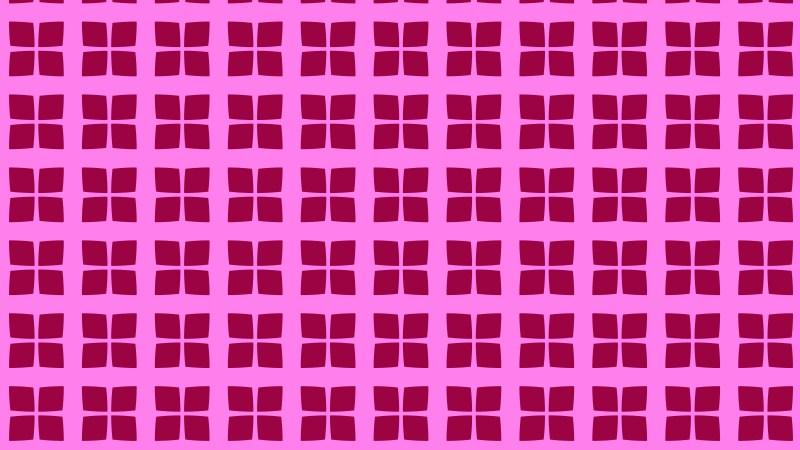 Fuchsia Square Pattern Background Vector Image