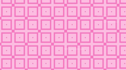 Pink Geometric Square Pattern Background Vector