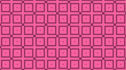 Pink Seamless Square Pattern Graphic