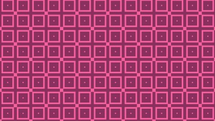 Pink Seamless Square Pattern Background Illustration