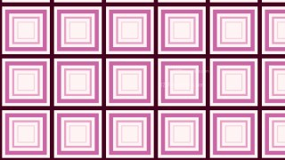 Pink Seamless Concentric Squares Pattern Background Illustrator