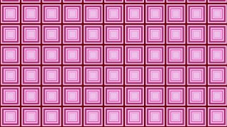 Pink Concentric Squares Background Pattern