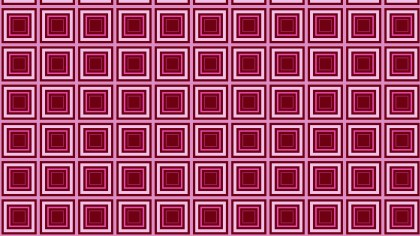 Pink Seamless Concentric Squares Pattern