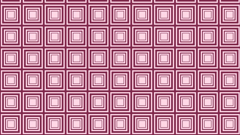 Pink Seamless Concentric Squares Background Pattern
