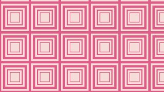 Pink Concentric Squares Pattern Vector Graphic