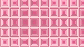 Pink Concentric Squares Pattern Background Vector Image