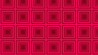 Folly Pink Seamless Concentric Squares Pattern Background Vector