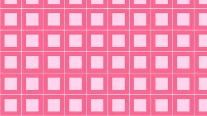 Pink Seamless Geometric Square Pattern Background Vector Graphic