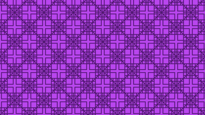 Purple Seamless Geometric Square Pattern Vector Illustration