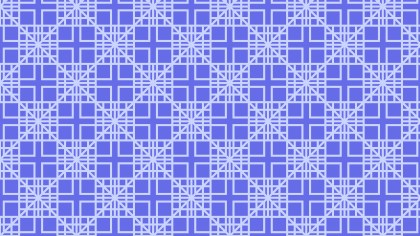Violet Seamless Geometric Square Pattern Background Vector