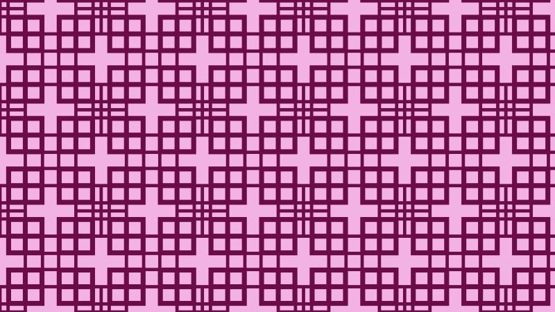 Purple Geometric Square Pattern