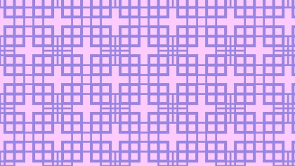 Purple Seamless Square Pattern Background