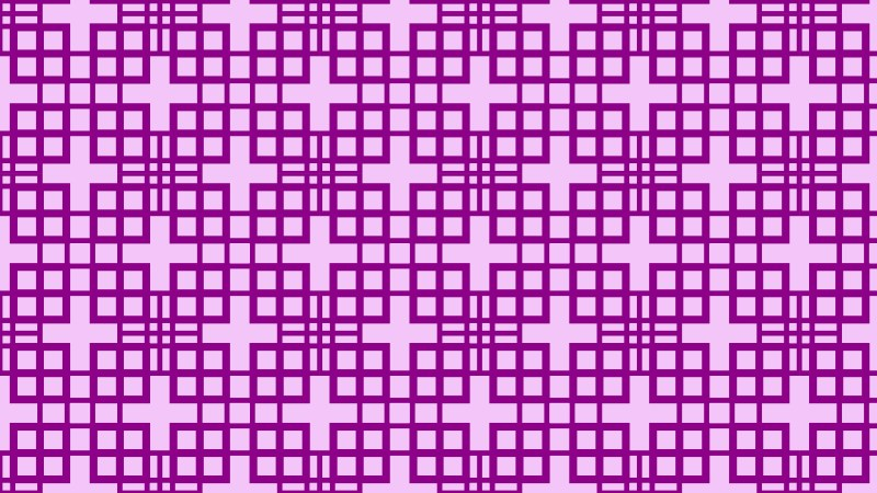 Purple Seamless Geometric Square Pattern