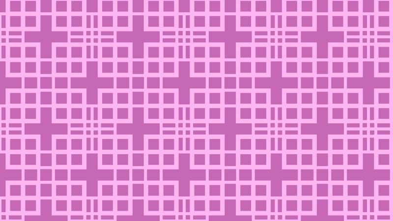 Lilac Seamless Geometric Square Pattern Background