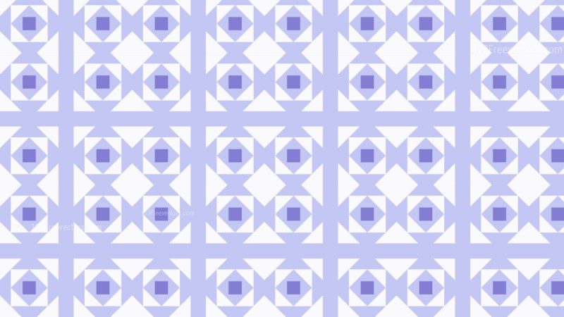 Purple Square Pattern Design