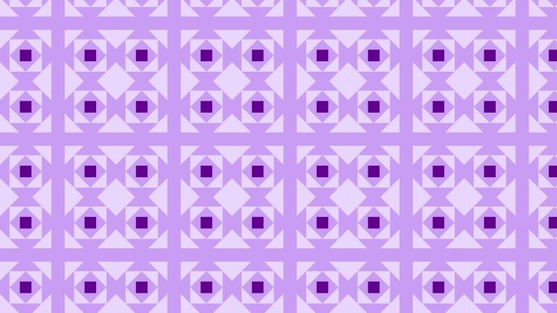Purple Geometric Square Pattern Vector Image