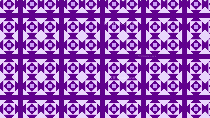 Purple Geometric Square Pattern Background Illustrator