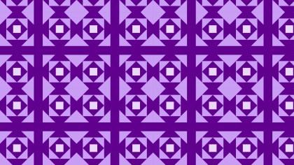 Purple Geometric Square Background Pattern Vector Illustration