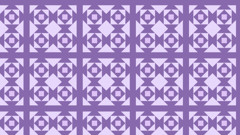 Purple Seamless Square Pattern Background Vector Art