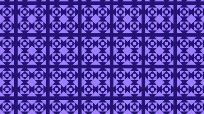 Indigo Seamless Geometric Square Pattern Illustration
