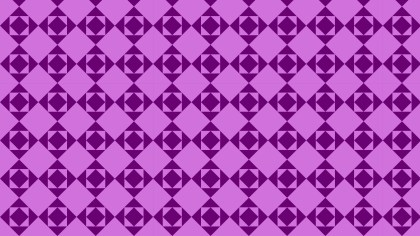 Lilac Geometric Square Pattern