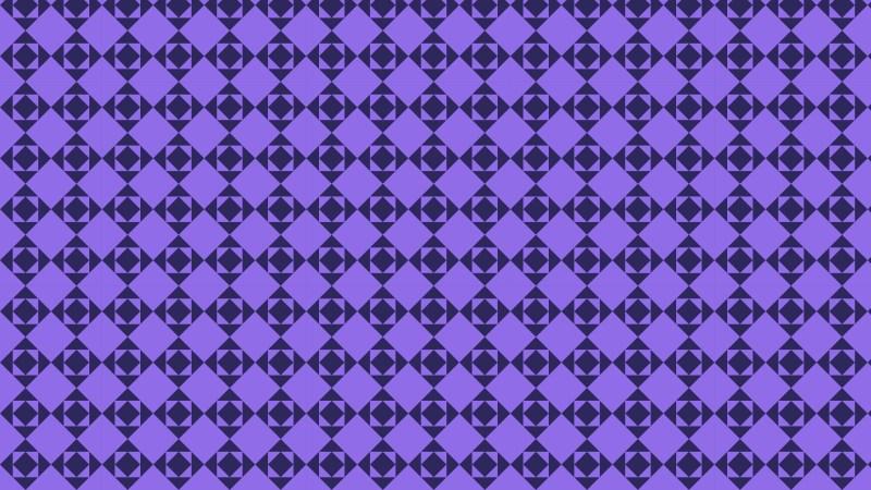 Indigo Seamless Geometric Square Pattern Background