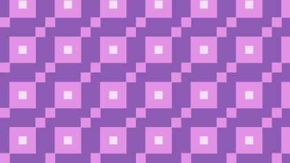 Purple Square Pattern Background Vector Illustration